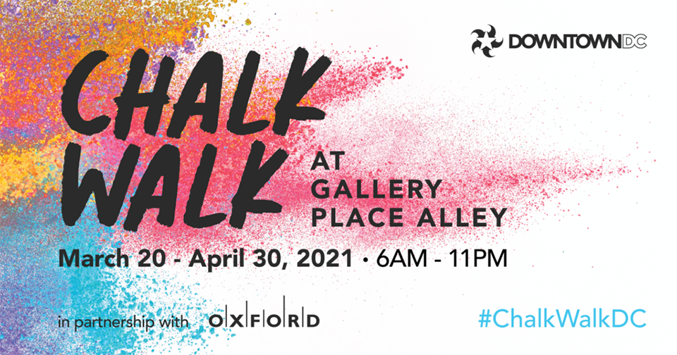 National Cherry Blossom Festival Chalk Walk