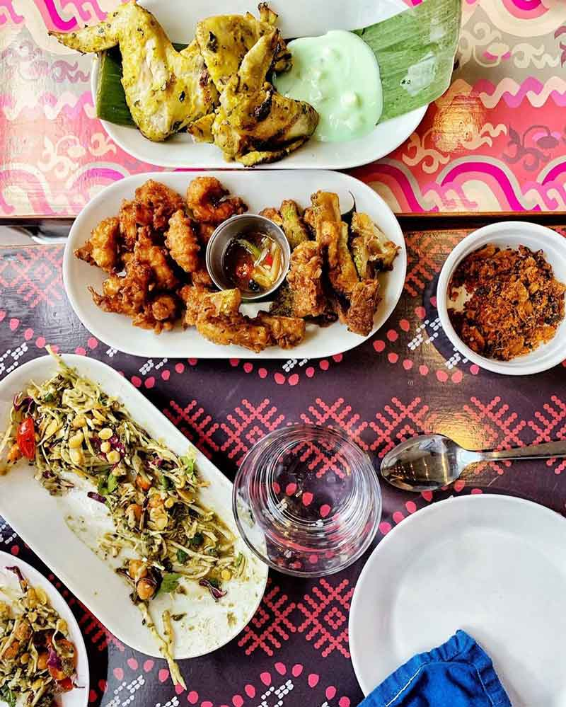 @abdullasyed - Vibrant Burmese dishes from Thamee restaurant on H Street NE - The best restaurants in Washington, DC