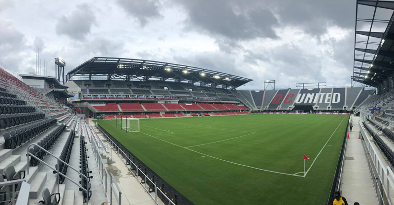 Audi Field in Washington, DC - New soccer stadium for D.C. United and events venue near Southwest Waterfront