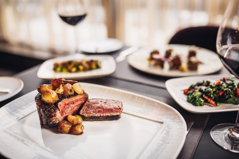 CUT by Wolfgang Puck high-end steakhouse in the Rosewood hotel - Where to eat in Washington, DC