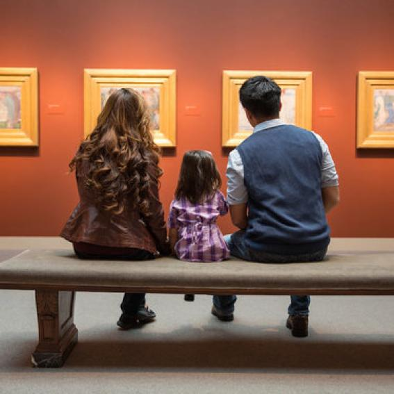 family at smithsonian