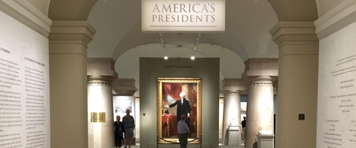 America's Presidents Museum Exhibit at Smithsonian National Portrait Gallery - Free Museum in Washington, DC