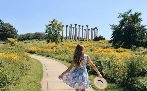 @tatyana_tati___ - Woman at the National Arboretum during summer - Outdoor things to do in Washington, DC
