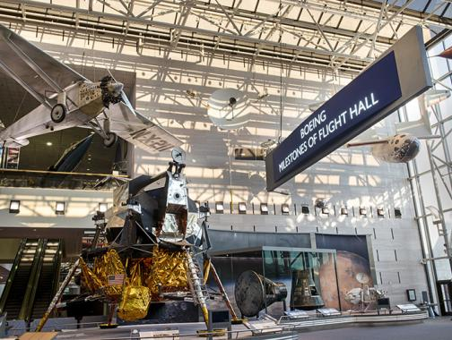 Boeing Milestones of Flight Hall at the National Air and Space Museum